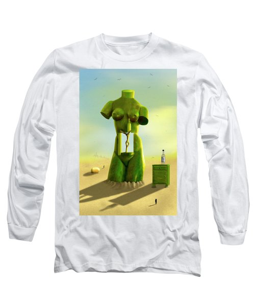 The Nightstand 2 Long Sleeve T-Shirt by Mike McGlothlen