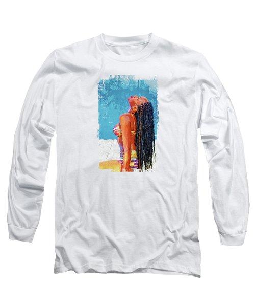 The Nubian Beauty Long Sleeve T-Shirt