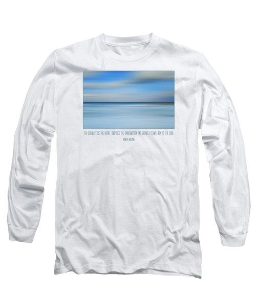 The Ocean By Robert Wyland Long Sleeve T-Shirt