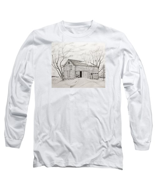 The Old Barn Inwinter Long Sleeve T-Shirt