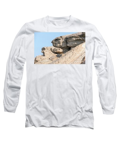 Long Sleeve T-Shirt featuring the photograph The Old Gatekeeper 02 by Arik Baltinester