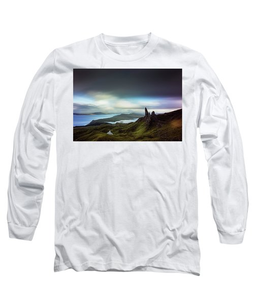 The Old Man Of Storr Long Sleeve T-Shirt