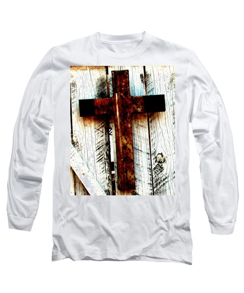 The Old Rusted Cross Long Sleeve T-Shirt