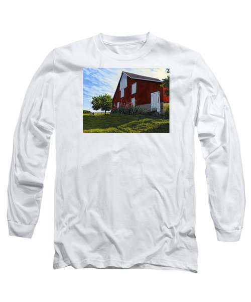 The Old Stucco Barn Long Sleeve T-Shirt