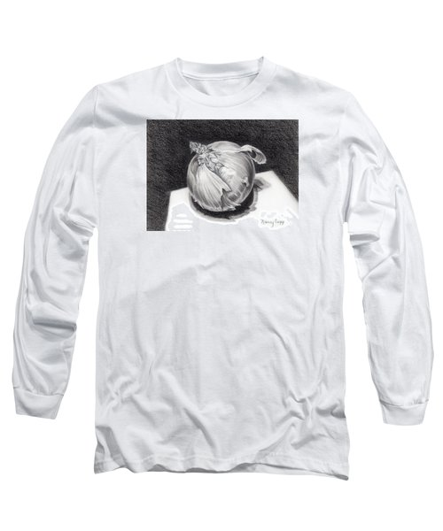 The Onion Long Sleeve T-Shirt by Nancy Cupp