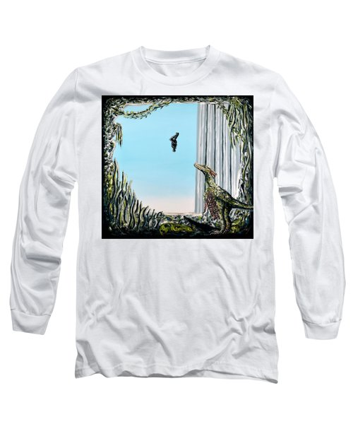 The Origin Of Species -a Recurring Pattern- Long Sleeve T-Shirt by Ryan Demaree