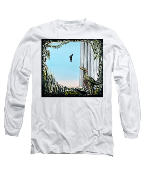 The Origin Of Species -a Recurring Pattern- Long Sleeve T-Shirt