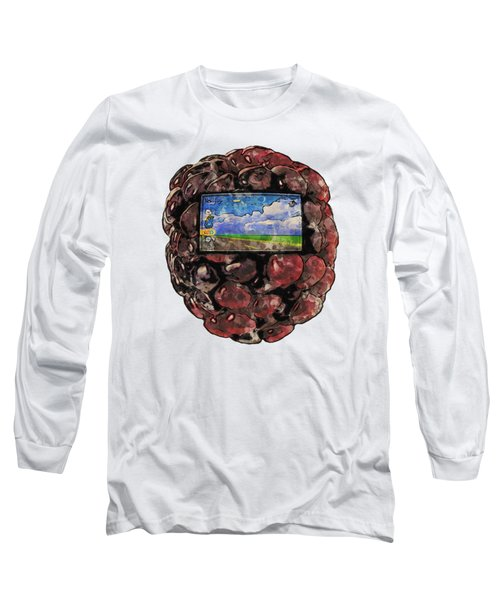 The Blackberry Concept Long Sleeve T-Shirt
