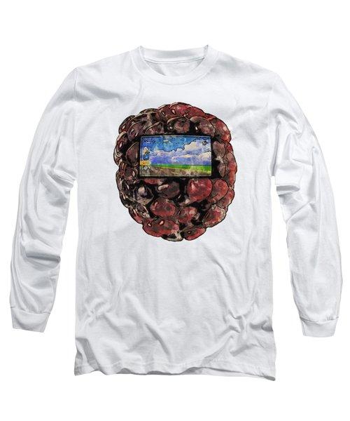 The Blackberry Concept Long Sleeve T-Shirt
