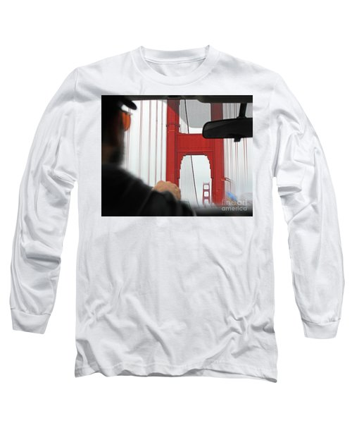 The Other Side Long Sleeve T-Shirt by Cheryl Del Toro