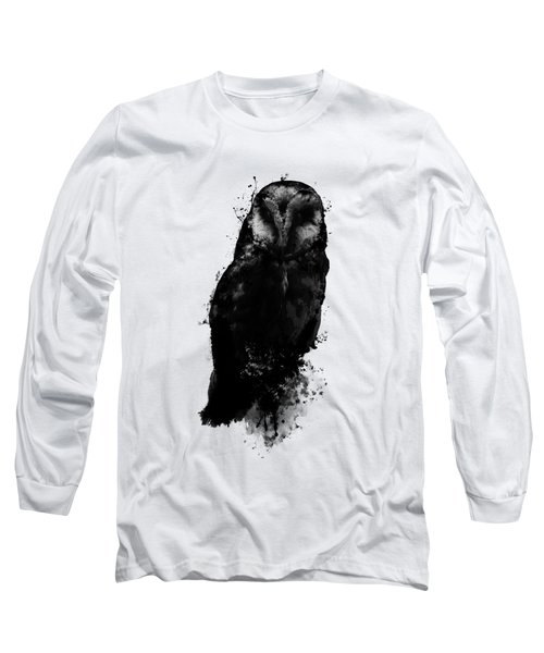 The Owl Long Sleeve T-Shirt by Nicklas Gustafsson