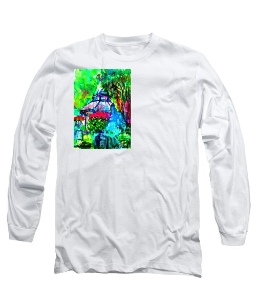 Flowers In The Park Long Sleeve T-Shirt