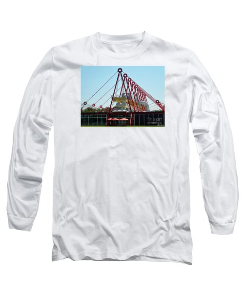 Long Sleeve T-Shirt featuring the photograph The Patscentre by Lyric Lucas