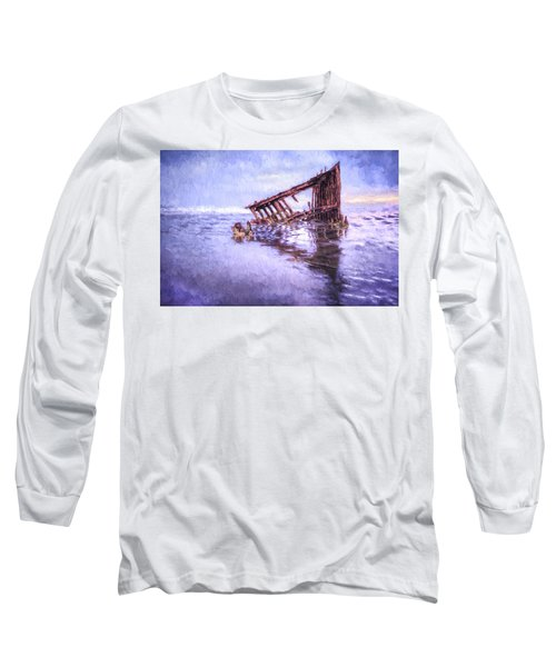 A Stormy Peter Iredale Long Sleeve T-Shirt