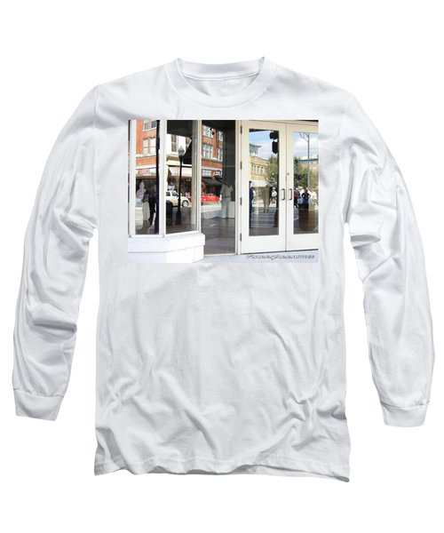 The Photographer And His Doppelganger Long Sleeve T-Shirt