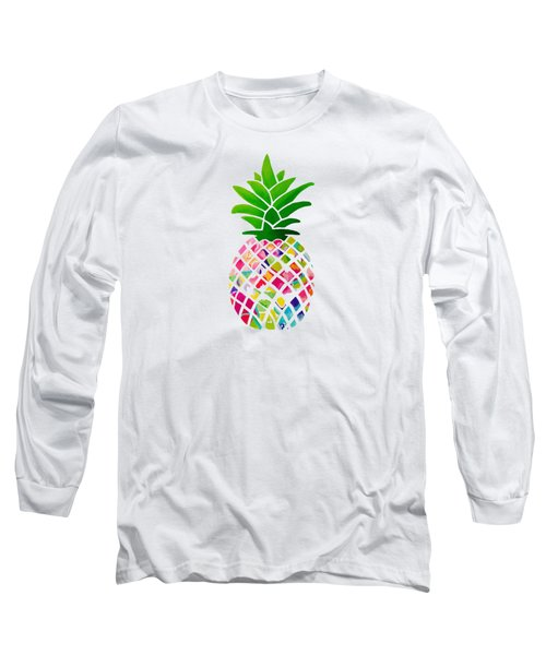 The Pineapple Long Sleeve T-Shirt by Maddie Koerber