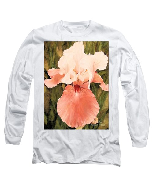 The Pink Lady  Long Sleeve T-Shirt by Laurie Rohner