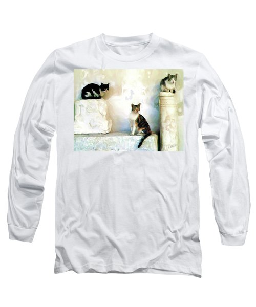 The Pose - Rdw250812 Long Sleeve T-Shirt