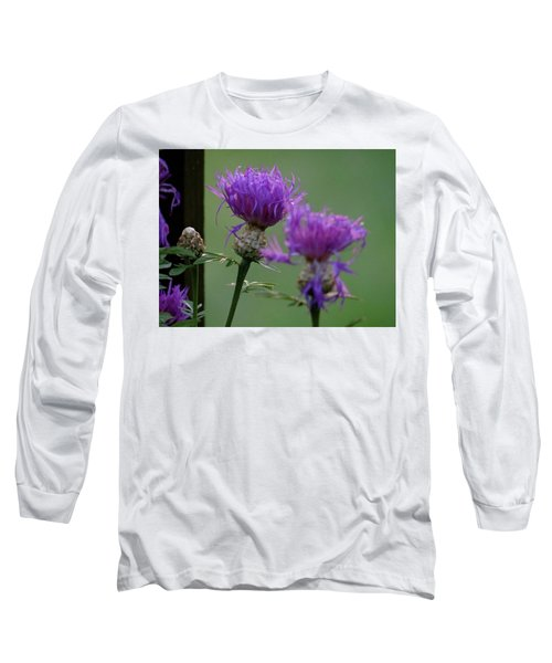 The Purple Bloom Long Sleeve T-Shirt