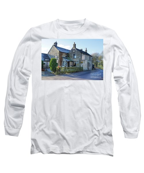 The Queen Anne At Great Hucklow Long Sleeve T-Shirt