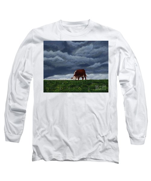 The Quiet Before The Storm Long Sleeve T-Shirt