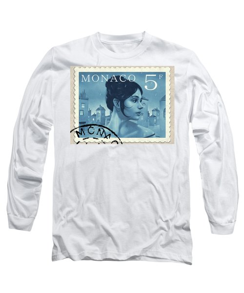 The Rainy Days Stamp Long Sleeve T-Shirt by Udo Linke