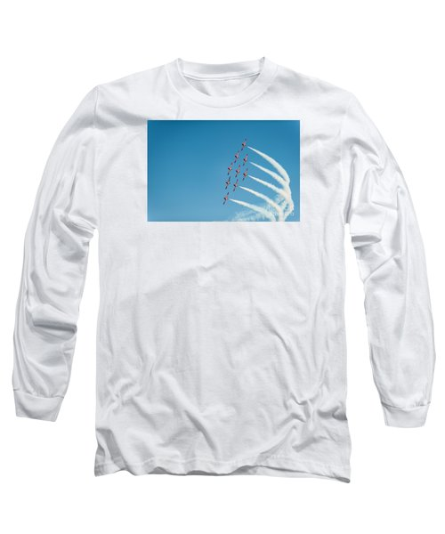 The Rcaf Snowbirds Long Sleeve T-Shirt