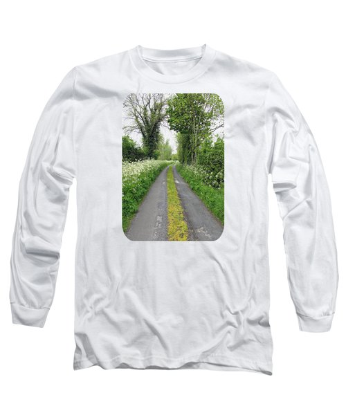 The Road To The Wood Long Sleeve T-Shirt by Ethna Gillespie
