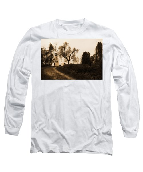 The Road To Turkey Point Lighthouse Long Sleeve T-Shirt