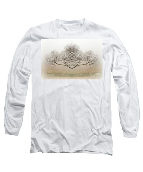 The Rorschach Tree Long Sleeve T-Shirt