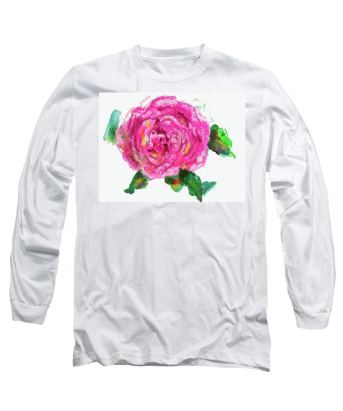 The Rose Long Sleeve T-Shirt by Beth Saffer