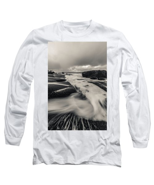 The Rush Of The North Sea Long Sleeve T-Shirt