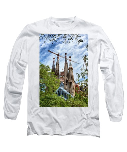 The Sagrada Familia Long Sleeve T-Shirt