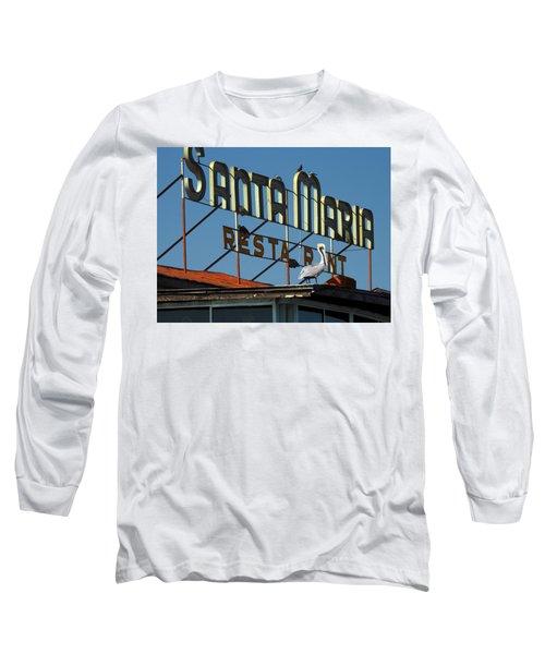 The Santa Maria Long Sleeve T-Shirt by Rod Seel