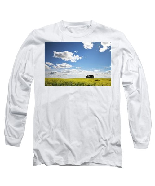 The Saskatchewan Prairies II Long Sleeve T-Shirt