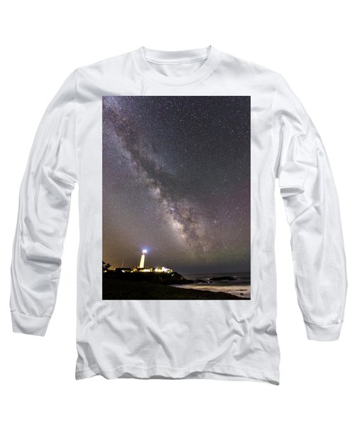 Long Sleeve T-Shirt featuring the photograph The Shore Of Night by Alex Lapidus