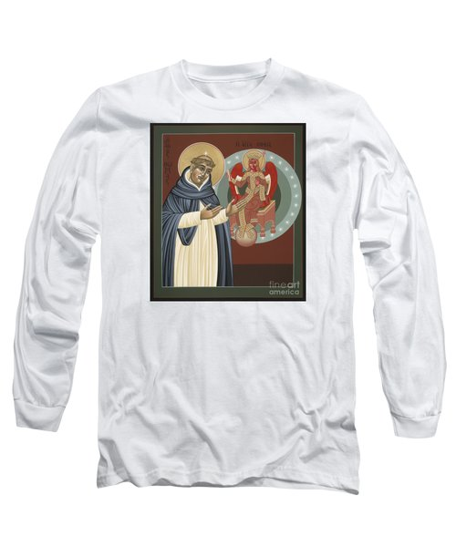 The Silence Of St Thomas Aquinas 097 Long Sleeve T-Shirt
