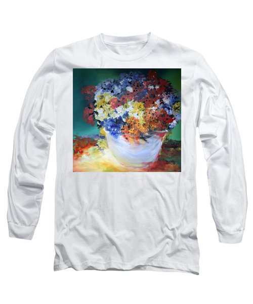 The Silver Pot Long Sleeve T-Shirt by Gary Smith