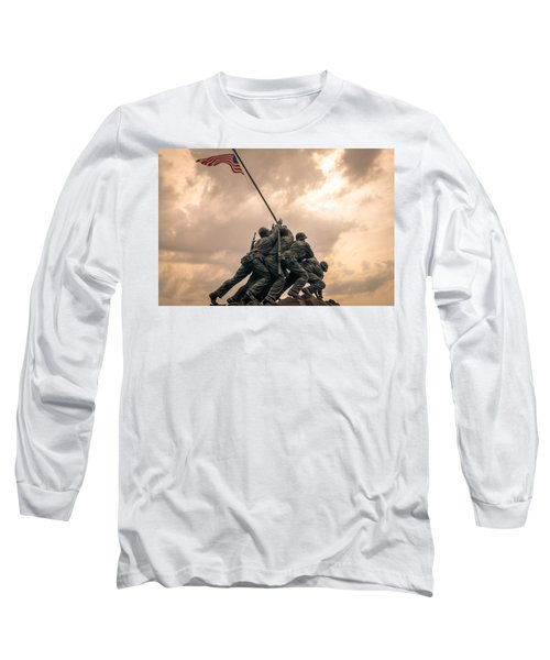 The Skies Over Iwo Jima Long Sleeve T-Shirt
