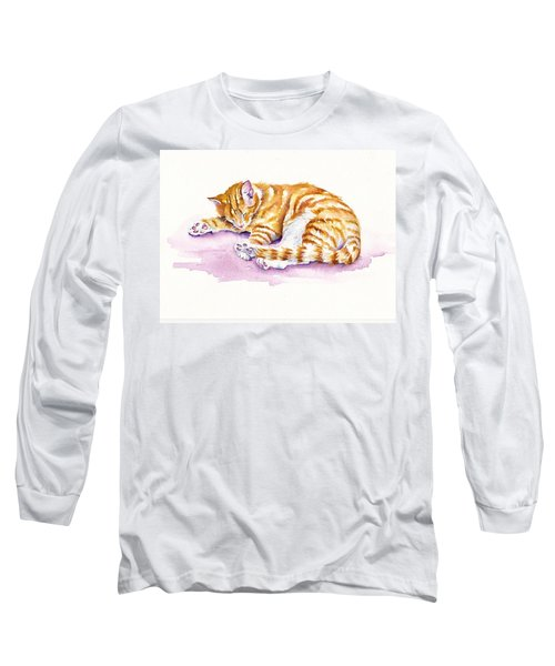 The Sleepy Kitten Long Sleeve T-Shirt