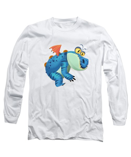 The Sloth Dragon Monster Long Sleeve T-Shirt by Next Mars