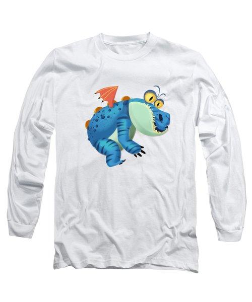 The Sloth Dragon Monster Long Sleeve T-Shirt