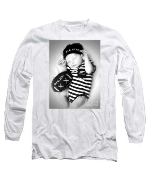 The Smallest All Black Long Sleeve T-Shirt by Karen Lewis