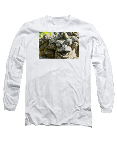 the Smiling Frog Long Sleeve T-Shirt