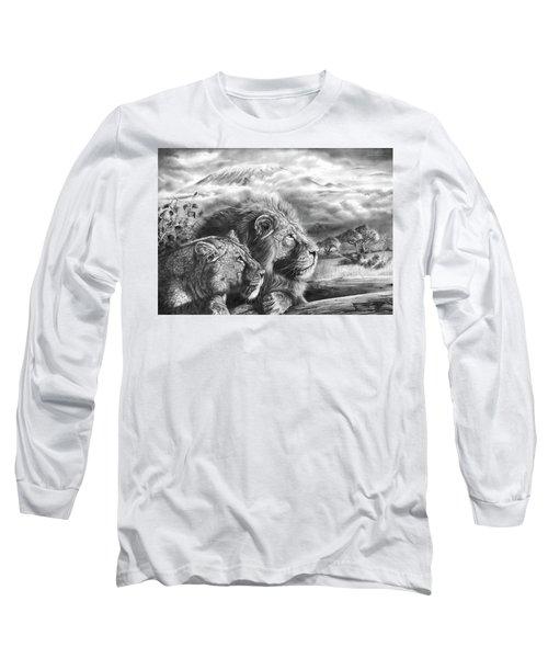 The Snows Of Kilimanjaro Long Sleeve T-Shirt