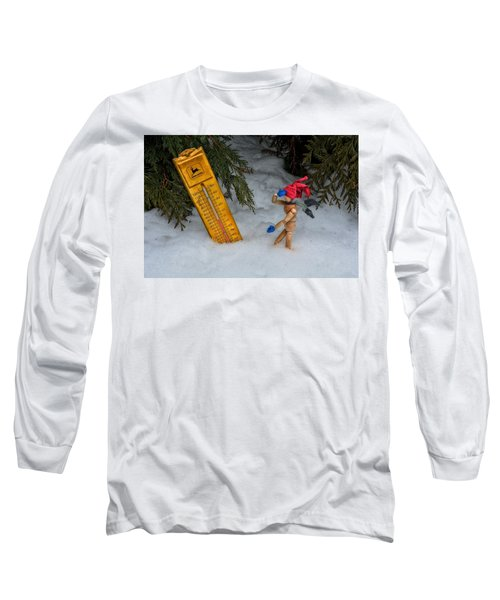 The Snowstorm Long Sleeve T-Shirt by Mark Fuller