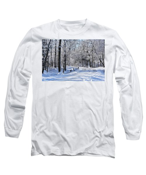 The Snowy Road 1 Long Sleeve T-Shirt