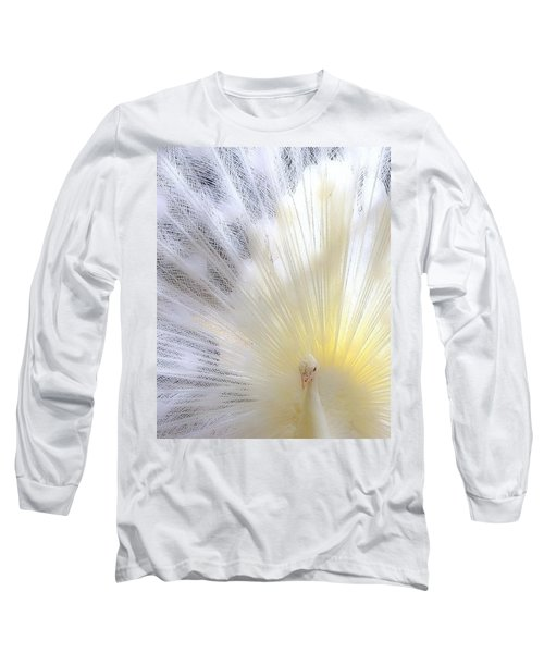 The Softer Side Of White Long Sleeve T-Shirt