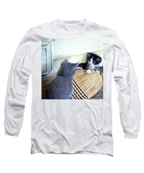 The Stare Down Long Sleeve T-Shirt by Maria Urso