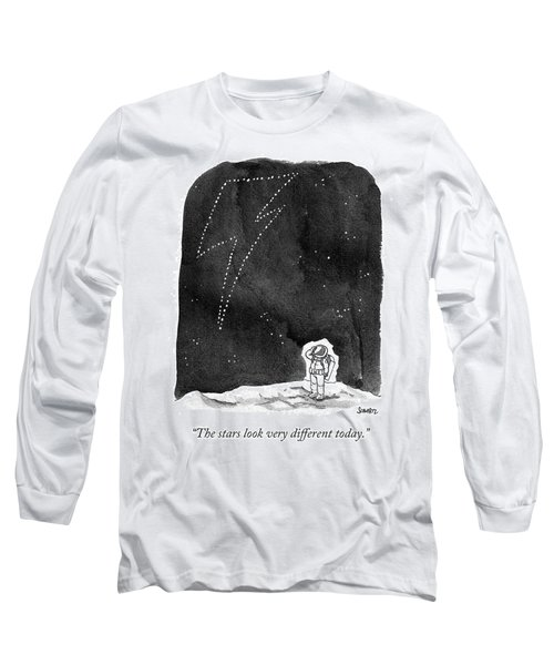 The Stars Look Very Different Today Long Sleeve T-Shirt